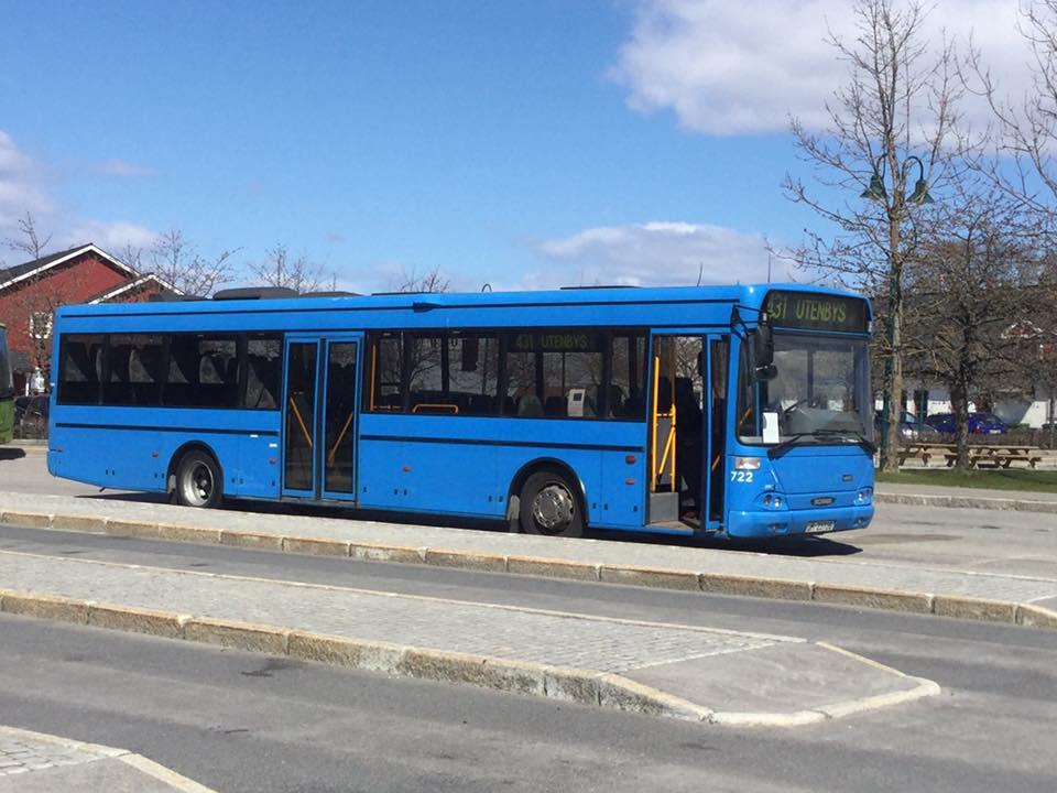 Bussen på tur utenbys